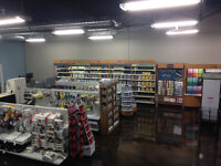 Retail/Customer Service in Paint and Decor Store