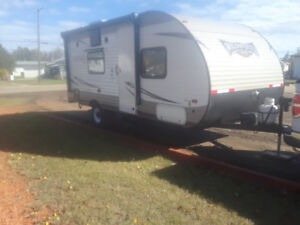 TRADE  2017 WILDWOOD TRAILER  /  2013 FORD F-150
