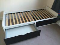 Used IKEA flaxa single bed
