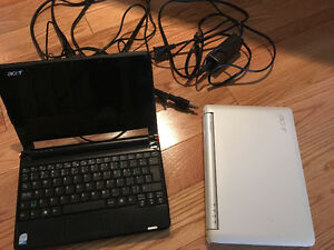 2 mini Acer Laptops