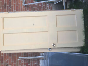 Solid wood antique doors