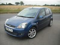 FORD FIESTA 1.4 ZETEC CLIMATE *NEW CAM BELT KIT* LOW MILEAGE