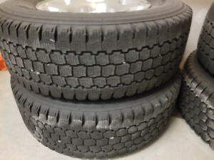 LT265/70R17 TIRES AND RIMS