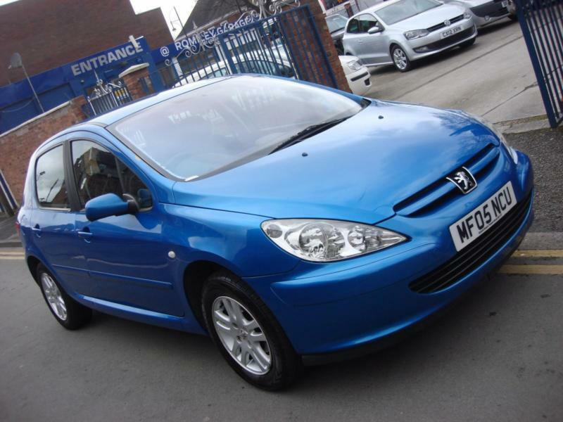 2005 05 plate peugeot 307 1 4 16v zest 5dr in blue in romiley manchester gumtree. Black Bedroom Furniture Sets. Home Design Ideas