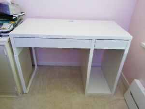 Ikea Micke Desk + WorkStation