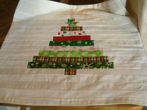 Decorative Christmas pillow cover handmade