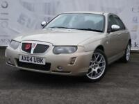 2004 ROVER 75 2.0 CONNOISSEUR SE CDTI WITH A BMW ENGINE FULL BLACK LEATHER HEATE