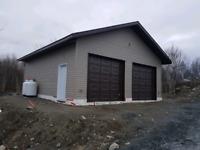 Landscaping and garages decks