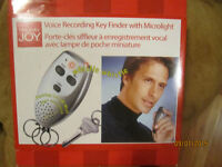 NEW- Voice Recording Key Finder with Microlight