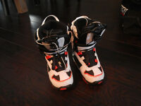 Sims Snowboard Boots - youth size 1