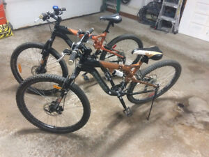 Two Bicycles for Sale - Need Repair