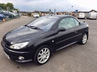 Peugeot 206cc Allure 1.6 HDi - FSH and MOT