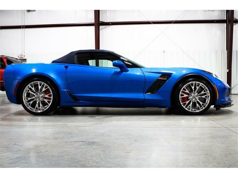 2016 Blue Chevrolet Corvette Z06 3LZ | C7 Corvette Photo 5