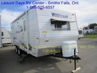 2010 Forest River Wildwood T22 Travel Trailer