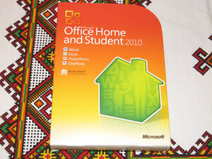 Microsoft Office Home and Student 2010 Retail DVD Family Pack x3