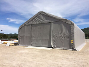Bâtiment d'entreposage 40x80x21' - Dome- Storage Building Tent