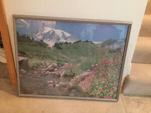 Large Grey Picture Frame