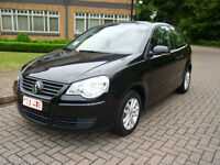 2007 Volkswagen Polo 1.2 64 S left hand drive lhd Belgium registered