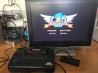Sega master system 2 console with av output
