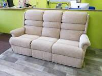Sherbourne 3 Seater Sofa - Can Deliver For £19