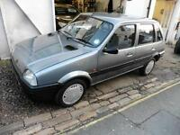 Rover Metro S 5dr one owner 27000 miles PETROL MANUAL 1990/H