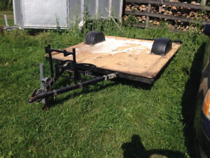 8 x 6 1/2 Atv/bike trailer homenace $250