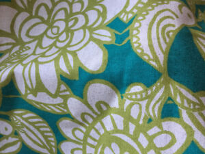 10 meters of upholstery/drapery fabric