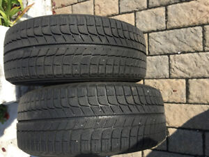 215/55 16 Michelin x ice winter tires