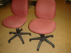 Used office chaires in good shape $50 and up stacking chairs$40 Regina Regina Area image 10
