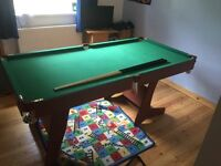 6x3 Pool snooker table