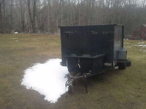 All steel 5 x 10 Utility/ATV trailer