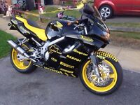 SUMMERS COMING CBR600 fx sell or may px/swap. (no cars)