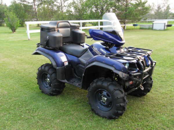 Yamaha grizzly silvertip for sale canada for 2006 yamaha grizzly 660 value