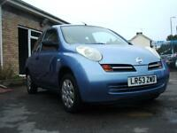 53 Nissan Micra 1.2 16v S 3 dr local Px to clear on trade terms 01656724800.