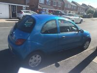 Blue Ford KA- low mileage and in excellent condition!