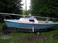 16 Foot Sailboat for Sale
