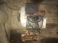 Two warn 8274 winches