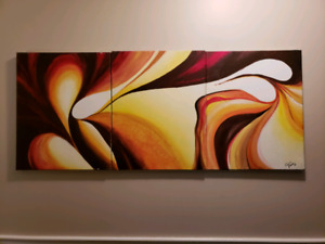Original one of a kind abstract acrylic painting