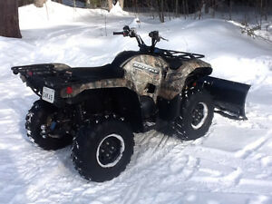 2014 Camo Yamaha Grizzly (EPS) with Extras