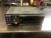 Alpine headunit. Stereo. Sub point adapter and amp outputs
