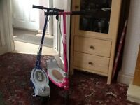Razor E90 electric scooters , blue & pink one