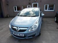 VAUXHALL CORSA 1.2 club 2007 Petrol Manual in Blue