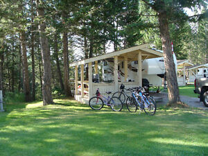 RV site for rent Radium Valley Vacation Resort