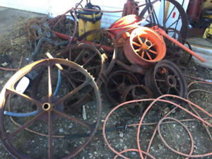 Yard decoration wheels