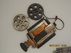 Movie projector Wall hung decoration
