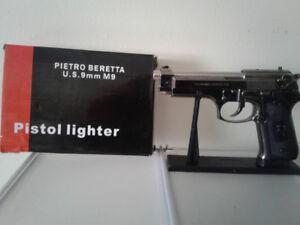 PISTOL LIGHTER for sale  brand new in box,