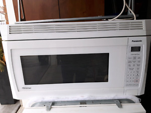 MICROWAVE over the range