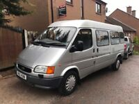 FORD TRANSIT MINIBUS 2.5 DIESEL ONLY 35000 MILES 1 OWNER 12 SEATER