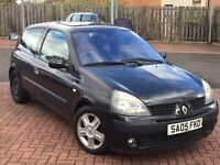 BARGAIN!!//RENUALT CLIO 1.2 2005//MOT-APRIL 2017//SERVICE HISTORY