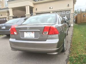2005 Honda Civic Sedan - Great working condition Oakville / Halton Region Toronto (GTA) image 2